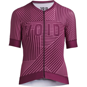 VOID Fuse Kurzarm Trikot Damen deep red